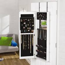 Jewelry Armoire Clearance Over The Door Mirrored Jewelry Armoire Christmas Tree Shops Andthat