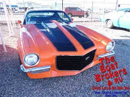 1973 chevy camaro z28 for sale 1973 chevrolet camaro for sale on classiccars com 38 available