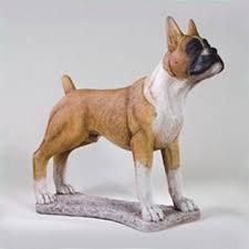 boxer dog statue boxer statue 29