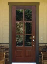 3 Panel Exterior Door Glass Panel Exterior Door Exterior Doors Custom And Stock