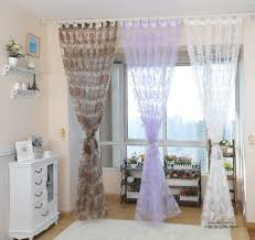 Blue And White Window Curtains Window Cute Windows Decor Ideas With Window Sheers U2014 Lamosquitia Org