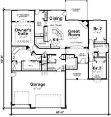 1 Story 4 Bedroom House Floor Plans Traditional Style House Plans 2023 Square Foot Home 1 Story 4