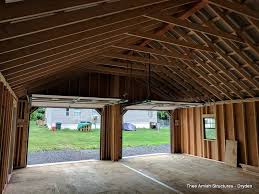 car garages 2 car garages thee amish structures