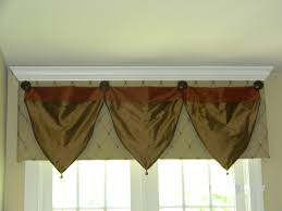 cornice board with crown molding and silk scarves sylvie u0027s