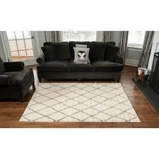 living room living room with 2x3 black modern polypropylene