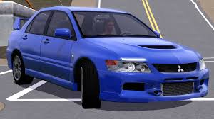 mitsubishi evolution 2006 fresh prince creations sims 3 2006 mitsubishi lancer evolution