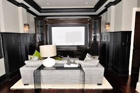 Home Decor For Walls Furniture Intimate And Elegant Theatre Room Décor For Your Family
