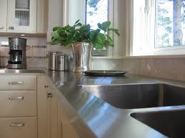 butcher block countertops stainless steel kitchen cabinet table