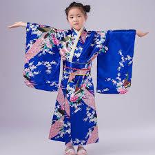 aliexpress com buy fashion blue japanese kimono dress