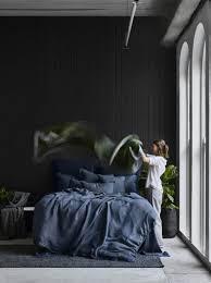 Linen Duvet Cover Australia Pure Linen Quilt Cover Set In Storm Bed Linen Sheets On The Line