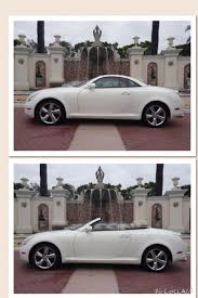 lexus rcf for sale dallas lexus sc430 convertible this white car is striking with the tan