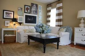 How To Change The Theme Of Your Decor Without Breaking The Bank - Curtains family room