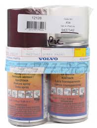 31395236 genuine volvo touch up paint code 454 ruby red