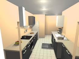 am agement cuisine en longueur amenagement cuisine salon galerie et enchanteur aménagement en