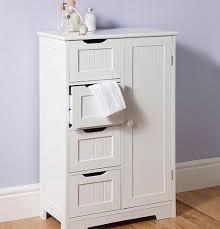 Freestanding Bathroom Furniture White Bathroom Stand Alone Cabinet Photolex Net