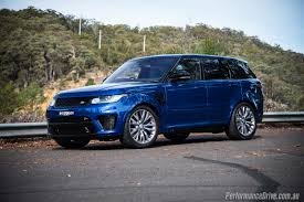 range rover back 2016 2016 range rover sport svr review video performancedrive