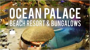 ocean palace beach resort and bungalows natal brazil youtube