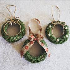 mason jar lid wreath ornaments christmas pinterest wreaths