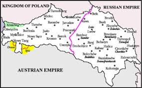 russia map before partition history of galicia polin travel