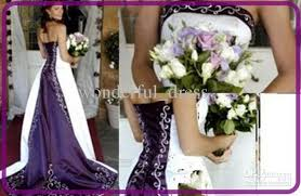 discount 2013 glamorous a line stunning white purple