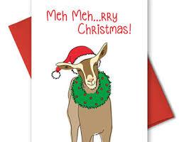 cute christmas cards etsy
