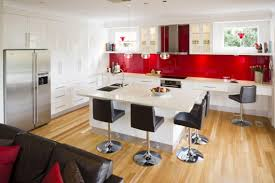 red and white kitchen design ideas red kitchen ideas home red and