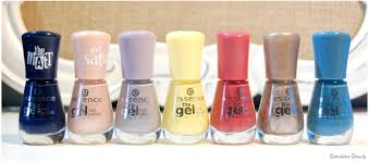gemstone beauty new essence the gel nail polish swatches review