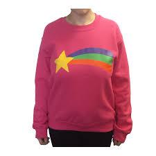 mabel sweater gravity falls mabel pines sweatshirt gravity falls costume pink rainbow