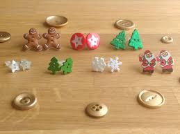 christmas tree earrings hypoallergenic plastic studs festive