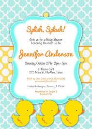 duck baby shower invitations baby shower invitation rubber ducky cutie for boy diy