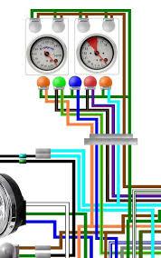 honda cb750f 1981 1982 usa spec colour wiring harness diagram