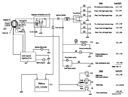 typical electrical circuit diagram of two wheeler