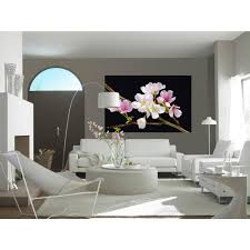 cherry blossom home decor ideal decor floral wall murals wall decor the home depot