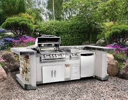 outdoor kitchen island kits modular outdoor kitchens lowes leisure season modular prep
