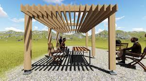 modele jardin contemporain stunning pergola contemporaine ideas home decorating ideas