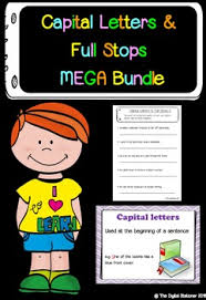 capital letters and full stops mega bundle posters presentation
