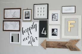 photo gallery ideas diy project of the week at home gallery wall homeyou