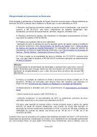 demonstrativo imposto de renda 2015 do banco do brasil instruções de preenchimento irpf 2016