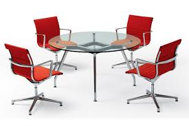 Glass Boardroom Tables Round Meeting Tables Circular Meeting Tables Fusion