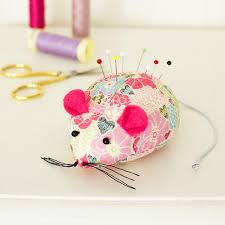 Making Pin Cushions Turn Leftover Fabric Into A Cute Mouse Pincushion