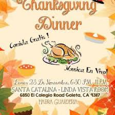 thanksgiving dinner uc santa barbara events tickets
