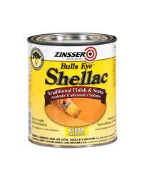 zinsser bulls eye clear shellac finish and sealer 1 qt at