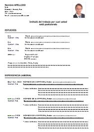 curriculum vitae pdf formato unico formato de curriculum vitae en español