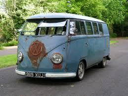 old rusty volkswagen 1955 rusty kombi vw beetle punch buggy u0027s cousin volkswagen