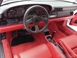 porsche 911 turbo s interior 1991 porsche 911 turbo hooned 911 eurotuner magazine