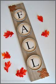 Home Decor For Fall - upcycled diy home decor for fall sparkles of sunshine