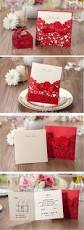Red Wedding Invitation Cards 2015 New Design Red Paper Chinese Laser Cut Wedding Invitation