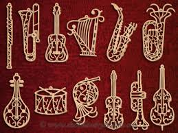 scroll saw filigree musical ornaments do it with style