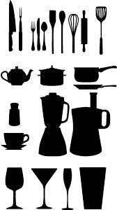 vaisselle cuisine sticker cuisine vaisselle et couverts tenstickers