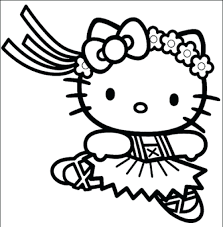 Hello Kitty Flag Innovative Coloring Pages To Print Of Hello Kitty 27 2235